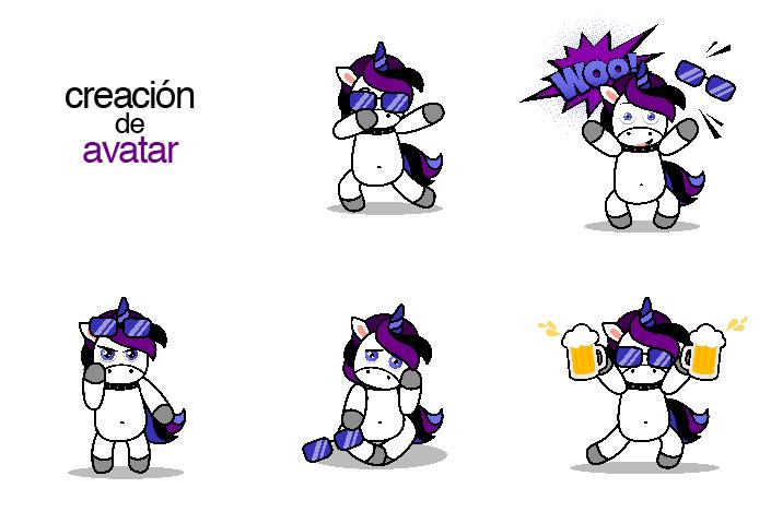 creación de avatar